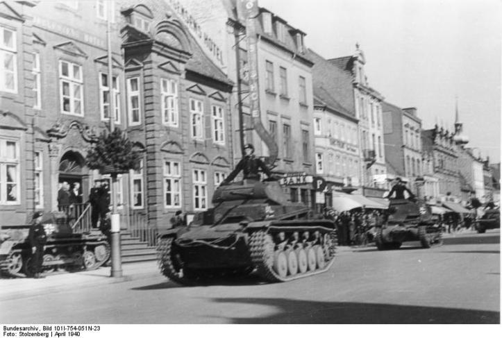 Dänemark, Panzer II und I