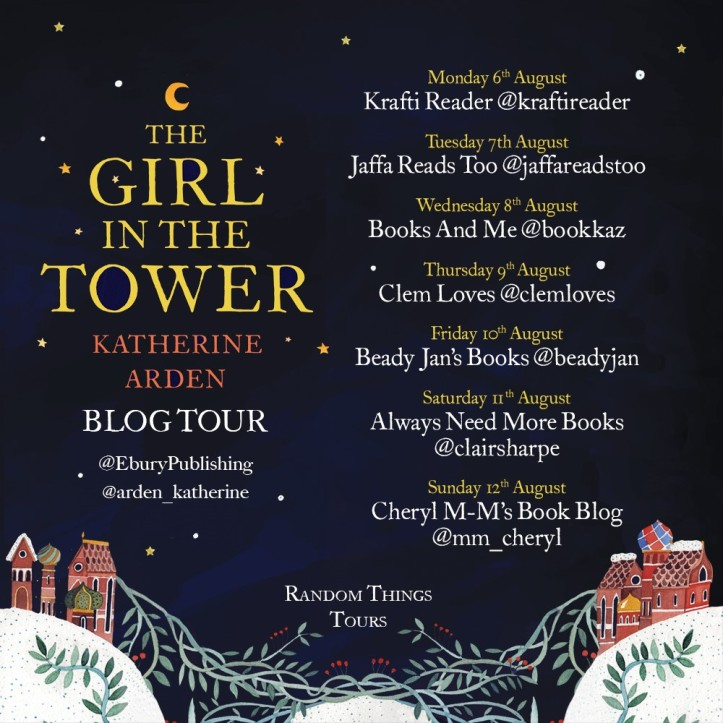 The Girl in the Tower Blog Tour Poster