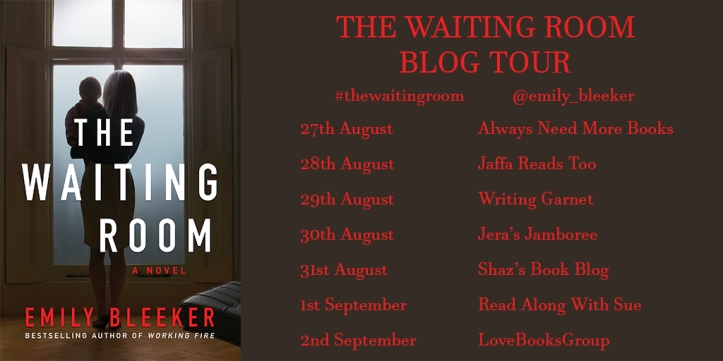 The Waiting Room Blog Tour Banner