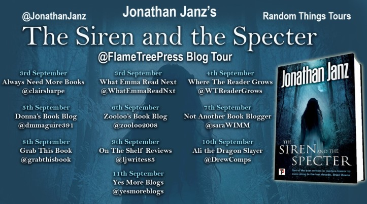 The Siren and the Specter Blog Tour Poster