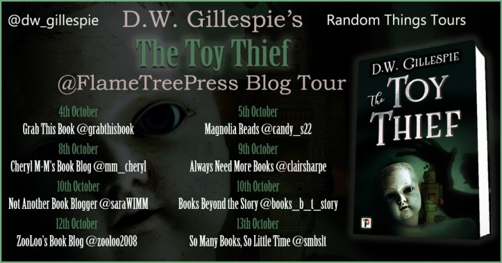 The Toy Thief Blog Tour Poster