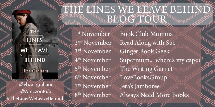 The Lines We Leave Behind Blog Tour Banner