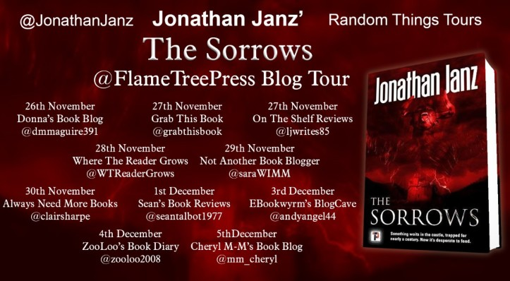 The Sorrows Blog Tour Poster