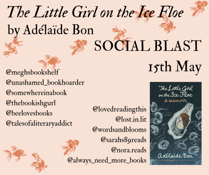 The Little Girl on the Ice Floe Social Blast Poster