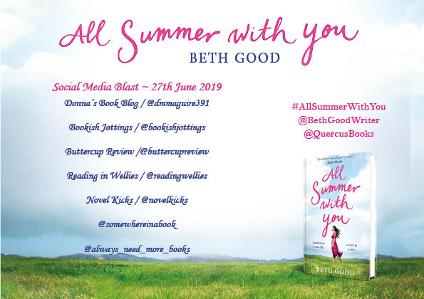 All Summer with You social blast poster