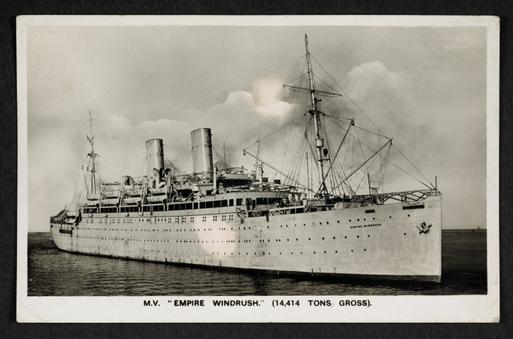 andrea-levy-postcard_of_empire_windrush_front