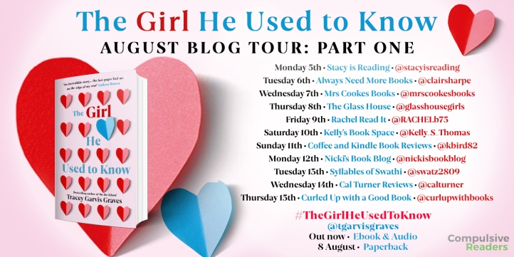 The Girl He Used to Know blog tour part one