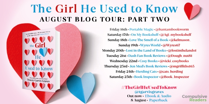 The Girl He Used to Know blog tour part two