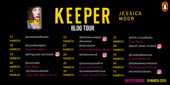 Keeper blog tour